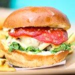 8oz smash grilled 100% beef burger topped with Chorizo, Rocket, Garlic Mayo and Mozzarella chees