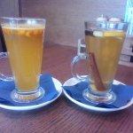 Ароматный чай - облепиховый и грушево-имбирный