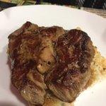 Steak w/ foie