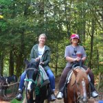 One mile from the Inn..great horseback riding through trails