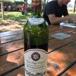 Our wonderful bottle of Zinfandel
