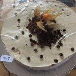 Fresh berry tart €10 Baileys cheesecake €13.75