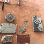 It was great seeing all the jewish artifacts throughout the tour, both inside museum + the stree