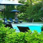 Our pool is an oasis for vacationers