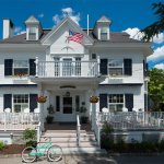 Kennebunkport Inn, located in the heart of downtown Kennebunkport.