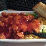 General Tso Combination Dinner