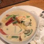 Thai prawn curry - mild