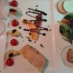 Foie gras du menu
