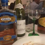 The trio of complimentary Rums that arrived at our table.