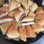 We cater! Call us for a sandwich tray at your next event!