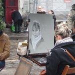 Place du Tertre - Mirando unas caras