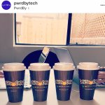 Our tech startup is basically fueled by Philz Coffee in Santa Monica.