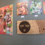 Cool local art for sale at Philz Coffee in Santa Monica.