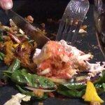 Tandoori salad disappearing fast