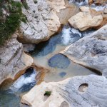 Rock pools to swim in or book a supervised canyoning experience.