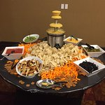 Guest Reception - Cheese Fountain/Taco Bar