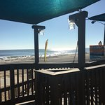 A beautiful day for breakfast at the ocean!