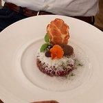 Overheerlijke steak tartare