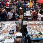 Mercado en Catania, impresionante.