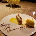 Anniversary desert