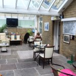 Beautiful conservatory which can be an optional dining room