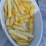 Petit bol de frites sans salade