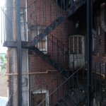old fire escape