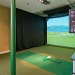Golfers will love our state-of-the-art golf simulator