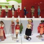 Partie de la collection de Barbies