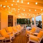 Porch of The Tides Beach Club