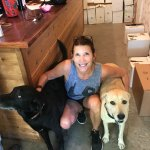 Laura Michael's wine doggies!