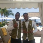 My handsome butlers!