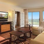 Penthouse suite living