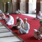 reading Quran Pak