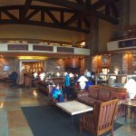 Panoramic view of Second Floor, Jackson Lake Lodge