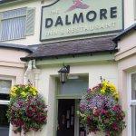 Entrance to The Dalmore Inn - Blairgowrie, Scotland (05/Sept/17).