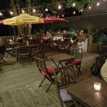 On the Deck of Mateus Bistro Listening to Music Under the Stars