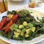 Salad was wonderful
