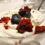 Berry trifle dessert. Yum!