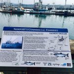 Signs teach you about the different fisheries