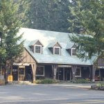 The main lodge at Union Creek Resort had a small grocery and gift shop, and lots of useful info.