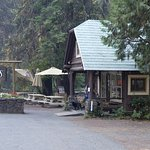 We loved having breakfast and dinner at Beckie's, just across the highway from the cabins.
