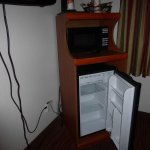 Small refrigerator and small freezer section