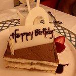 Surprise birthday Tiramisu cake!