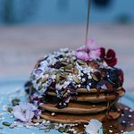 Gluten Free, Vegan, Blueberry Stack