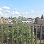 Balcony view was fantastic.
