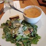 Lobster Bisque & Salad! OMG!