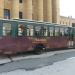 Philadelphia tour trolley