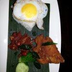 Nasi Lemuk. See description in menu :)
