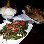 Kapitan Ayam and Sambal Kakang Botol. See description in menu :)